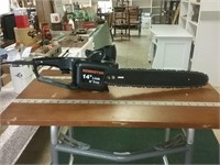 Remington 14 Inch Electric Chain Saw Works