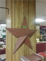 Metal Star With Pocket