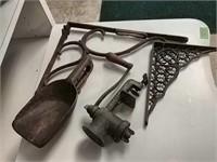 Keystone Grinder, Wooden Scoop, Shelf Brackets