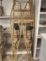 Wooden Snow Shoe Pair