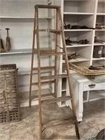 6 Ft Wooden Ladder