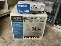 Brother Printer With Extra Toner New