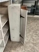 "Vintage Cabinet 21""x10""x39"""
