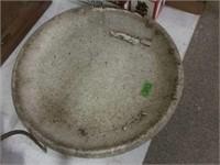 20 Inch Concrete Bird Bath Bowl