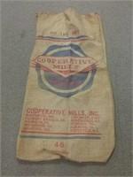 Cooperative Mills Vintage Burlap Feed Sack