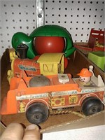 Assorted Vintage Toys 2 flats