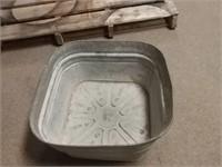 Galvanized Wash Tub