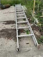 22 Foot Aluminum Extension Ladder