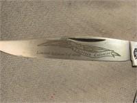 Schrade 13 Colonies Virginia Knife LE-