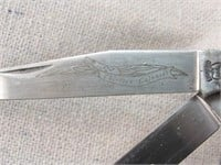 Schrade 13 Colonies Massachusetts Knife LE-