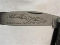 Schrade 13 Colonies Rhode Island Knife LE-