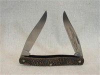 Schrade 13 Colonies New Jersey Knife LE-