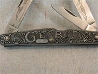 Schrade 13 Colonies Georgia Knife LE-
