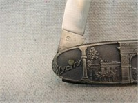 Capitol Build and Washington Square Arch Knife-