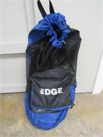Edge Dive Bag w/ Fins, Mask and Snorkle-