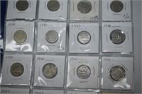 (20) Canadian Nickels