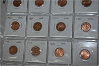 (20) Uncirculated Canadian Pennies
