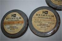 (3) Old 8mm Films in German