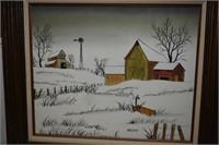 "Hargrove Canvass Art 33""x29"" Tall"