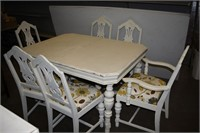 Table with (6) Chairs (Imperfect)