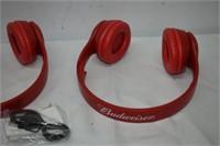 (3) Budweiser Headphones