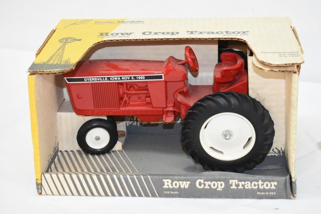 Die Cast Row Crop Tractor 1/16 Scale | VAN KLAVEREN Auctions Inc