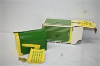 ERTL John Deere Die Cast Mail Box Coin Bank