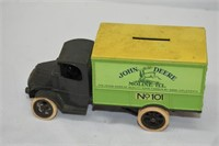 "John Deere Coin Bank (No Key) 6.5"" Long"