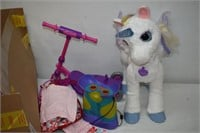 Unicorn Toy & Other Children's Toys