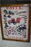 ERTL Replica Poster in Frame