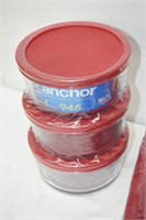 Group of Anchor Hocking (Still in Packaging),