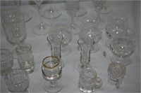 Group of Assorted Wine Glasses