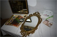 Group of Mirrors, Frames, etc.