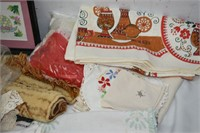 Table Cloths, Place Mats, Hand Towels, etc.