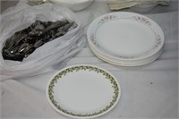 Group of Assorted Plates, Bowls, Mugs, etc.