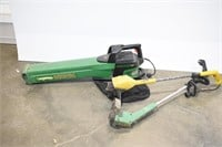 Weed Eater Vacuum/Blower & (2) Trimmers