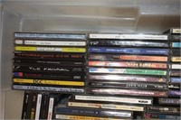 (3) Boxes of DVD's, CD's & VHS'