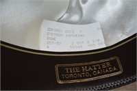 Imperial Stetson Leather Hat