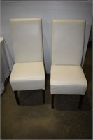 Pair of White Side Chair