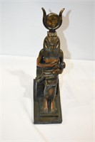 """Isis & Horus Signed Varonese 2000 9.5"""" Tall"""