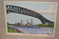Jim Hutchings Ltd Edition Under Blue Water Bridge