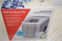 Frigidaire Stainless Steel Couner Top Ice Maker