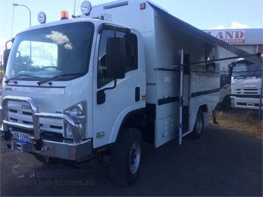 2012 Isuzu NPS 300 4x4 Camper Truck