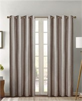(2) Silk Home Total Black Out Panel Curtain 52x84