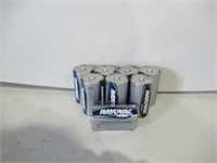"Lot of (8) Rayovac ""D"" Batteries"