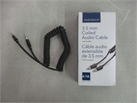 Insignia 6ft Coiled 3.5mm Audio Cable