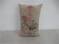 Linen Bicyclette Pillow