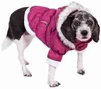 PET LIFE Classic Metallic Fashion Pet Dog Coat