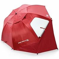 SKLZ Sport Brella Extra Large Umbrella, Deep Red,