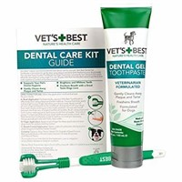 Vets Best Dog Toothbrush and Enzymatic Toothpaste